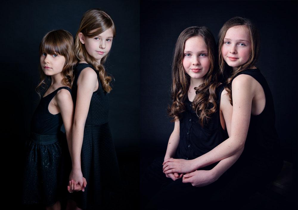 Sisters photoshoot