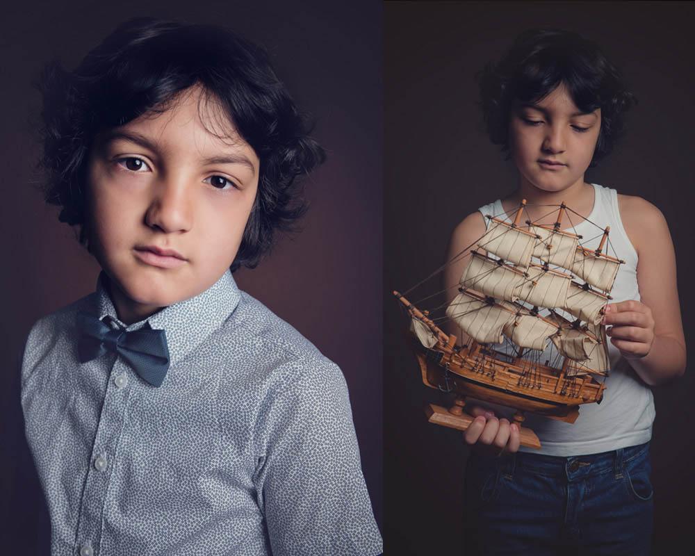 fine art children portraits Nottingham Beeston photo studio