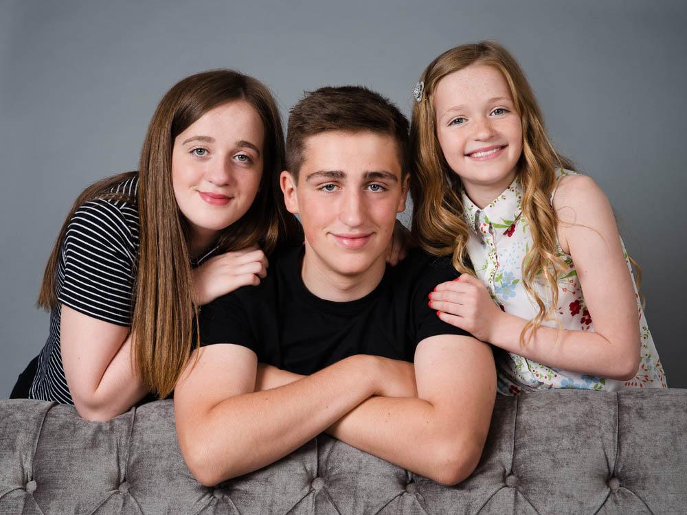 Teen siblings photoshoot Nottingham