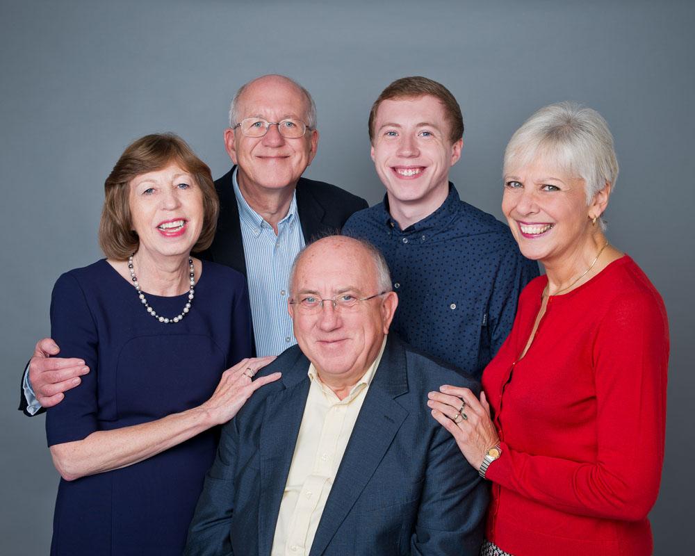 Family portraits Nottingham