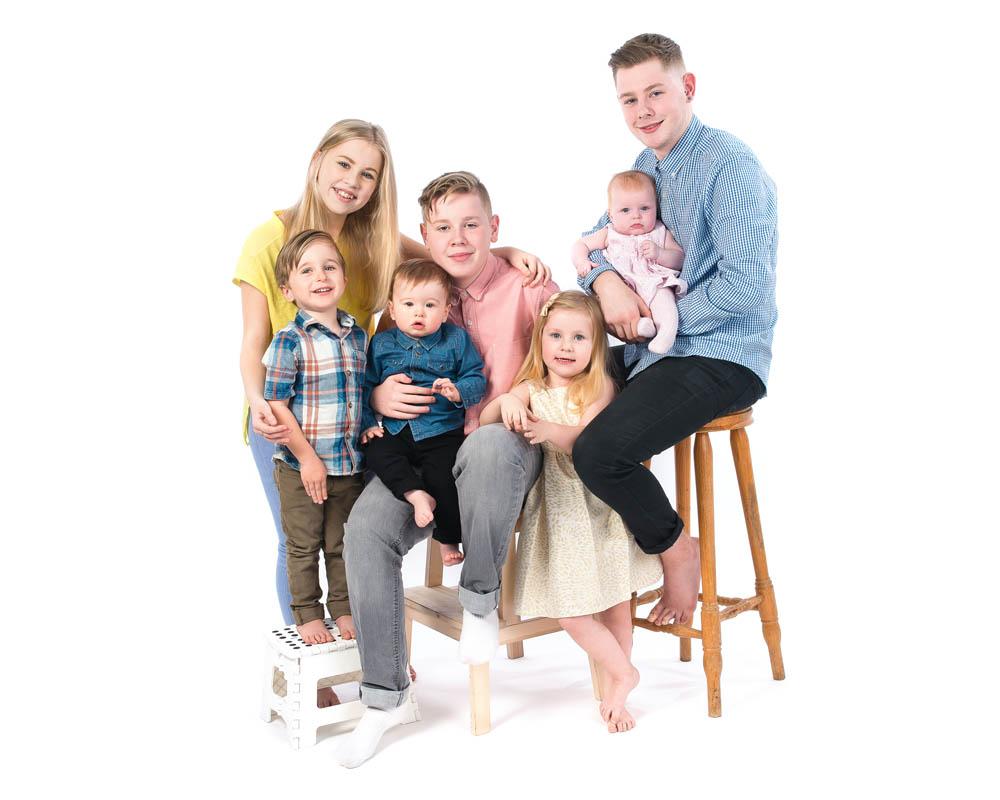 Nottingham photo studio | Baby, children and family portraits