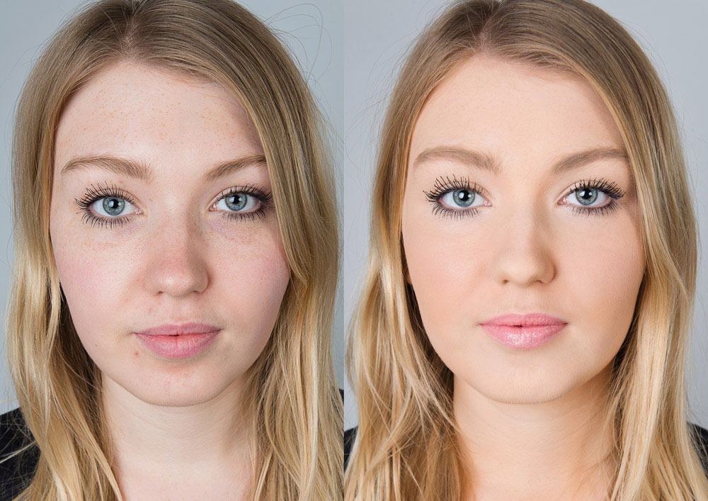 commercial photo shoot for Airbase makeup, Nottingham photographer