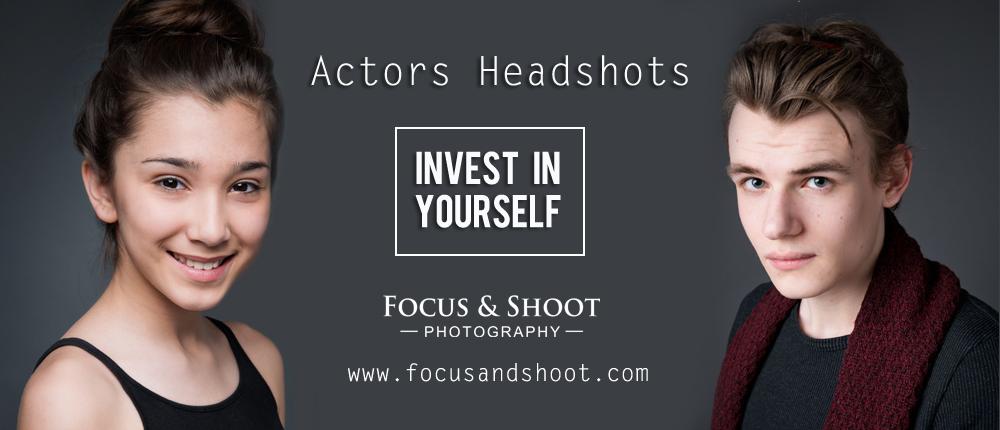 Actors Headshots | Corporate Headshots | Nottingham Headshot Photographer