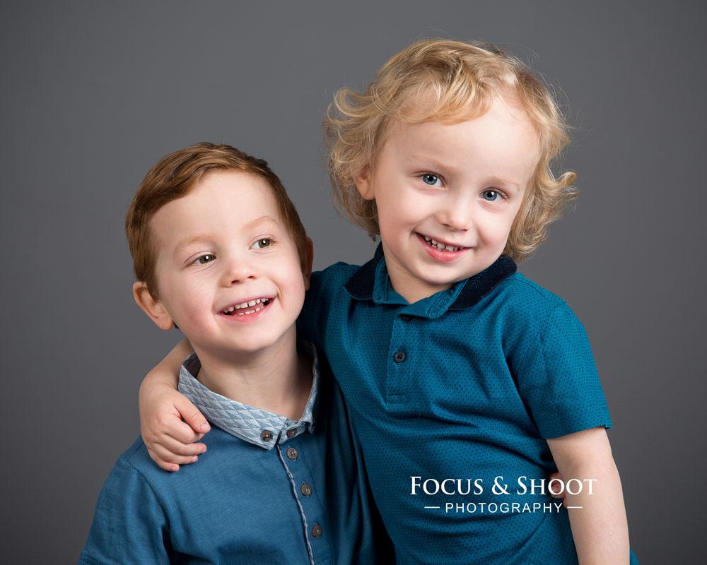 Siblings photoshoot Nottingham photography studio