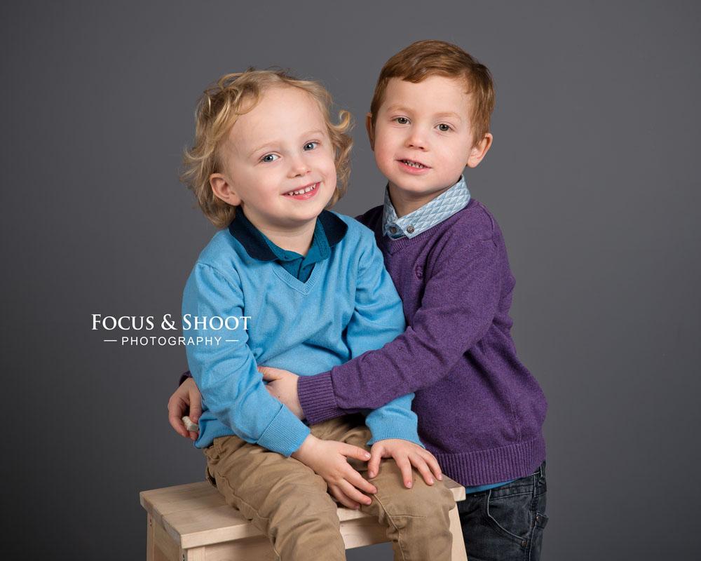Siblings photoshoot Beeston photo studio
