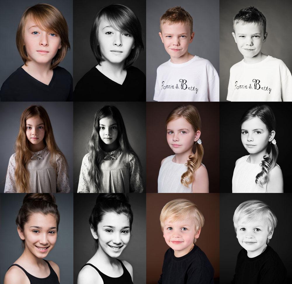 children headshots and model portfolios Nottingham