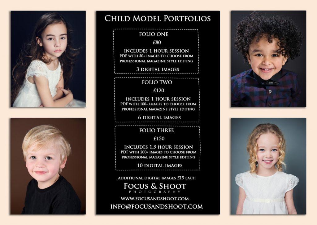 Child model headshots and portfolio updates prices, Nottingham headshot photographer
