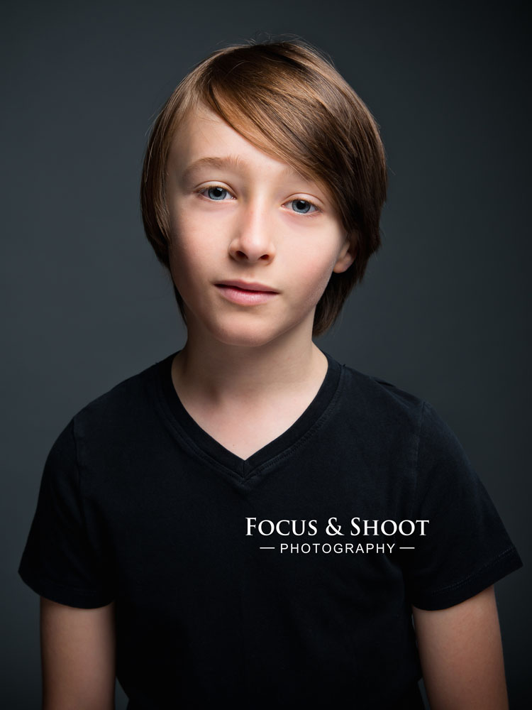 Headshots for children actors in Nottingham