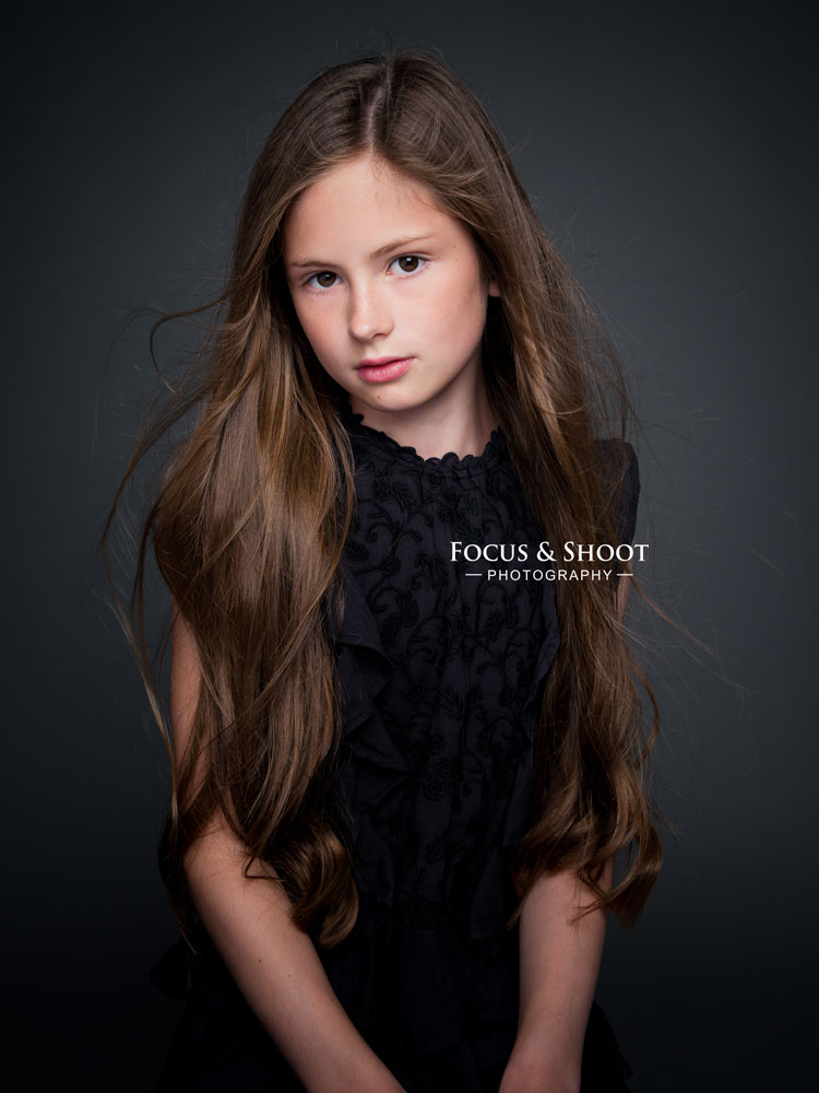 Focus and Shoot Child model headshots portrait photography Nottingham