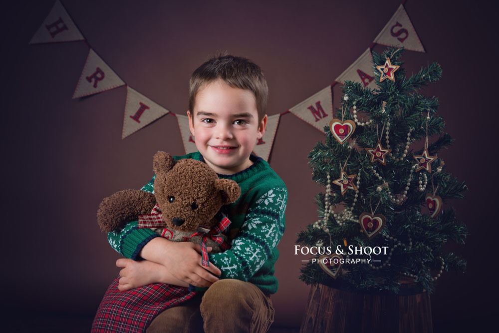 Christmas mini photo sessions available at my Beeston, Nottingham photo studio